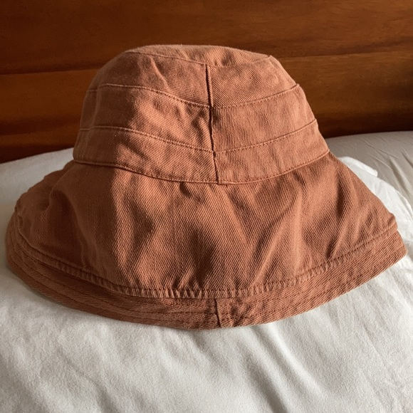 Double sided canvas bucket sun hat